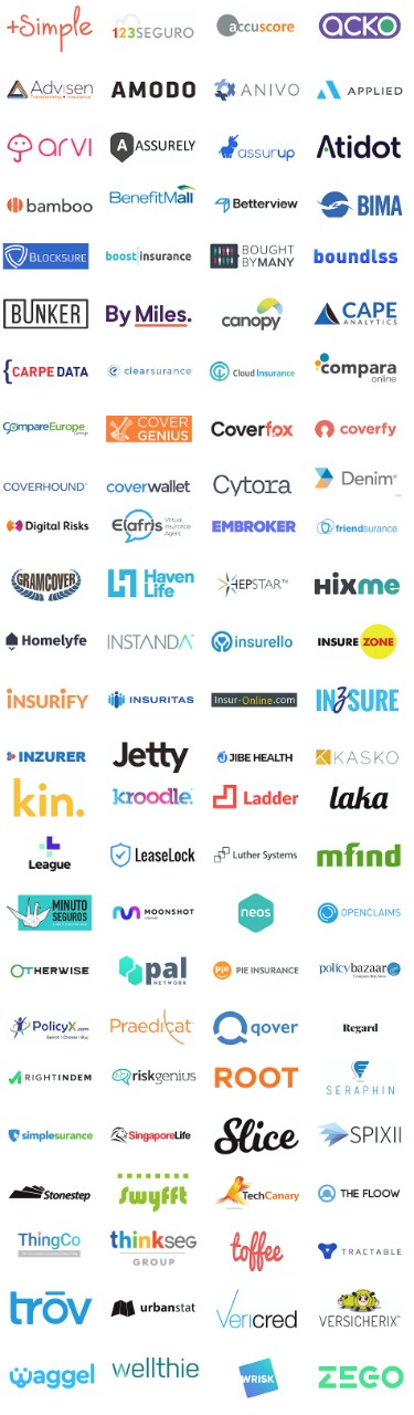 top 100 insurtech